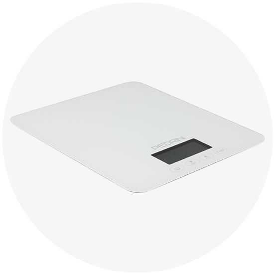 Bilancia da cucina digitale, max 5 kg